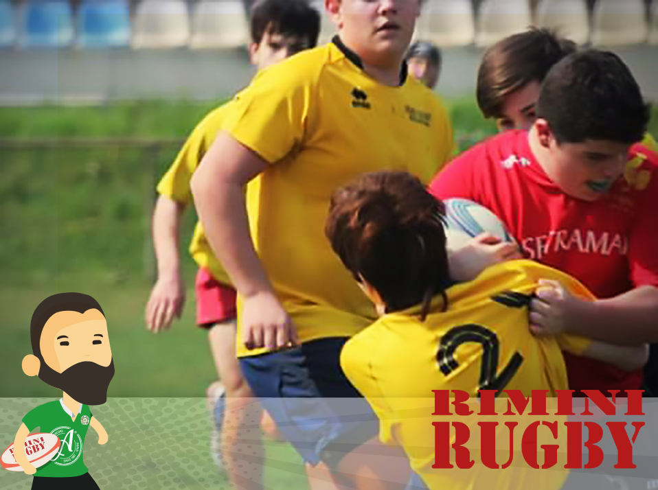 Rimini Rugby team SuperÈNOI