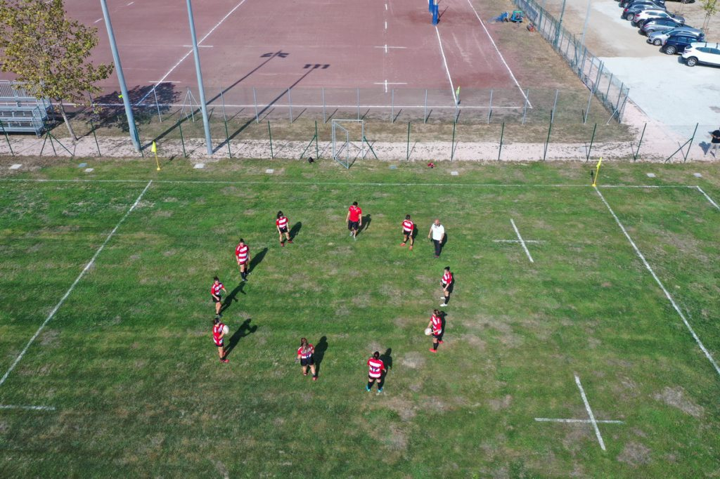 Campo Rugby dal drone