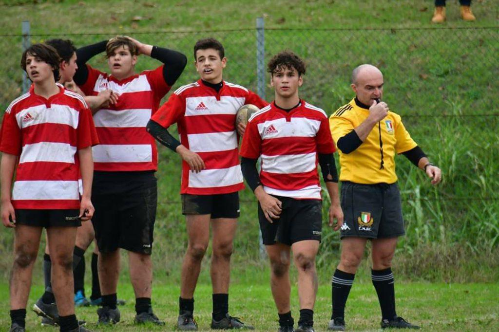 U18 con arbitro