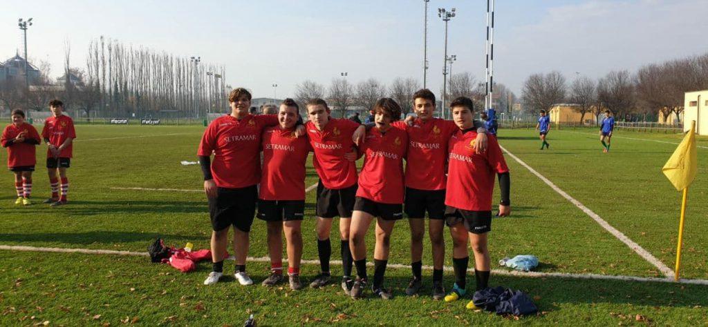 Rugbisti U18 selezione Romagna